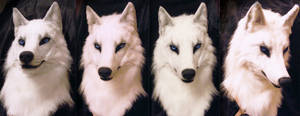 Nagi white wolf mask by SnowVolkolak