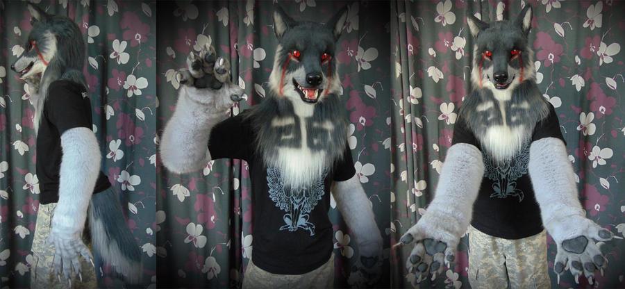 Di wolf partial by SnowVolkolak