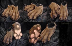 Feetpaws for RedFox by SnowVolkolak