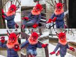 Radera lynx partial by SnowVolkolak