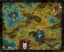 My Website map by Stormcrow135