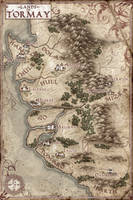 The Lands of Tormay Map by Stormcrow135