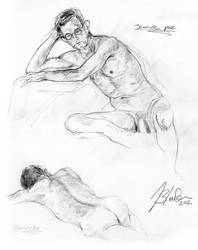Life Drawing 5.6.212 #2 by Stormcrow135