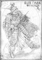 Elite Dark Warrior Conceptual art