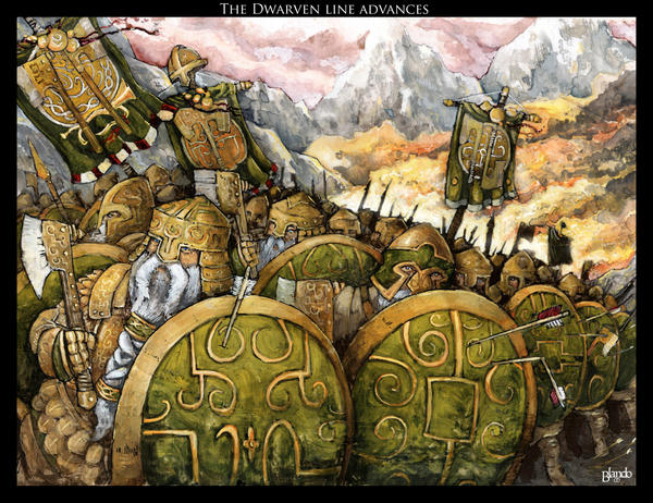 Dwarven march by Stormcrow135