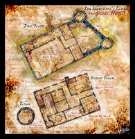 DnD Map: Merchants's Hall by Stormcrow135