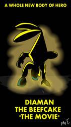 Leaked Diaman Movie Poster - Sonic Movie Parody