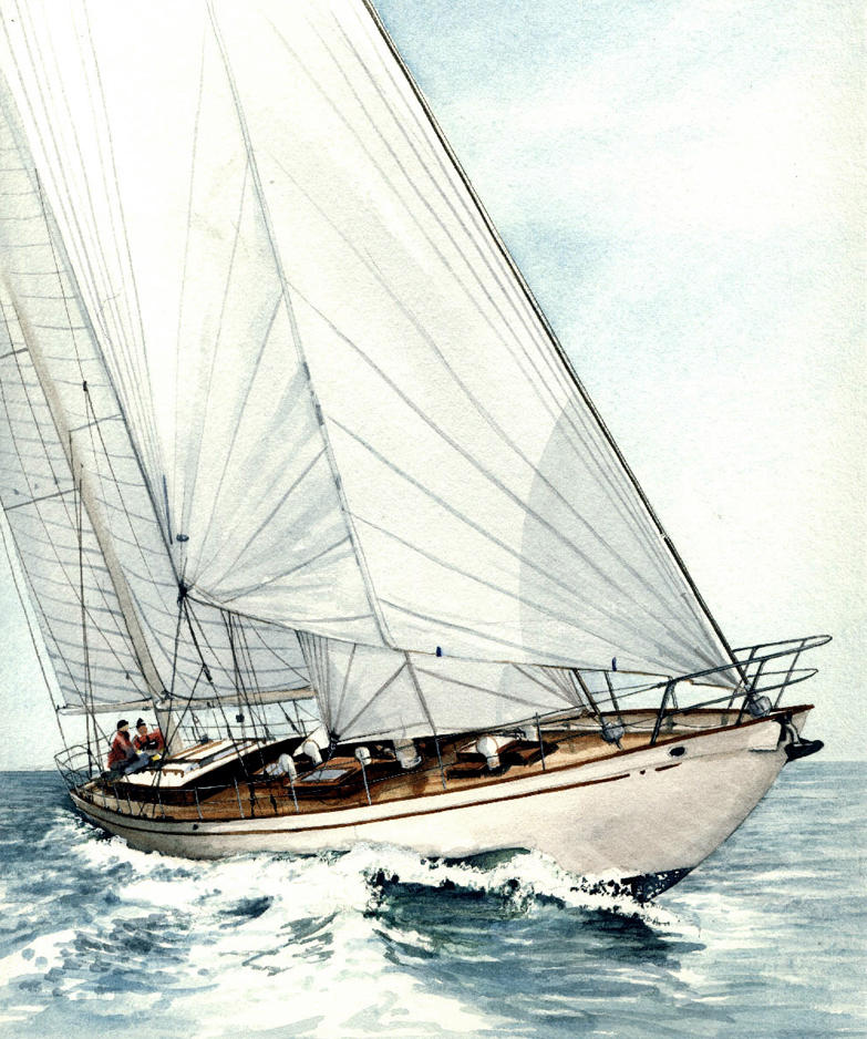 Bridgeport Schooner by kelso41