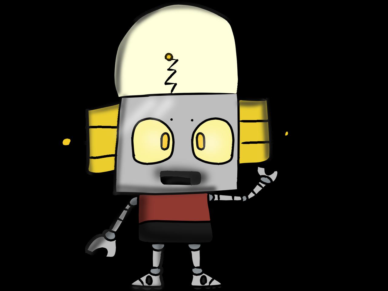 Jones deviantart robot Logan's Adventures
