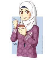 Mjam. Nutella by tuffix