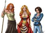 Rand Wives - Progress IV by ReddEra