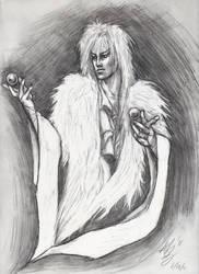 Jareth Sketch 2011 by ReddEra