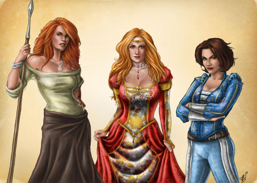 Rand Wives - Progress V by ReddEra