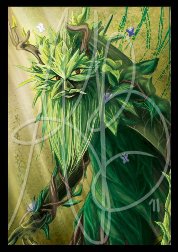 WOT -the Green Man by ReddEra