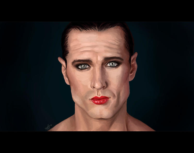 Man in make up by ReddEra