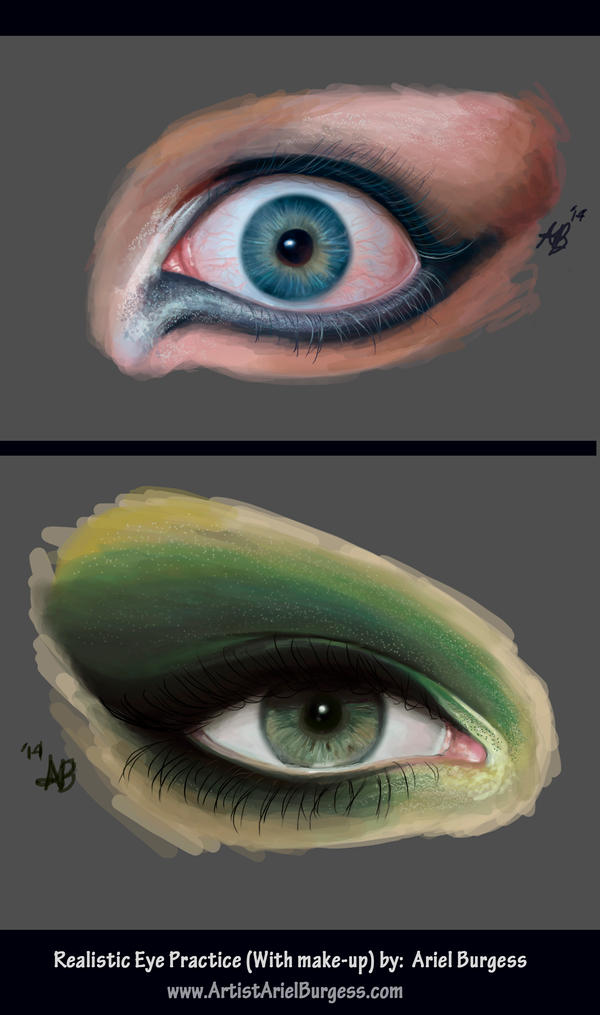 Women Eyes Practice by ReddEra
