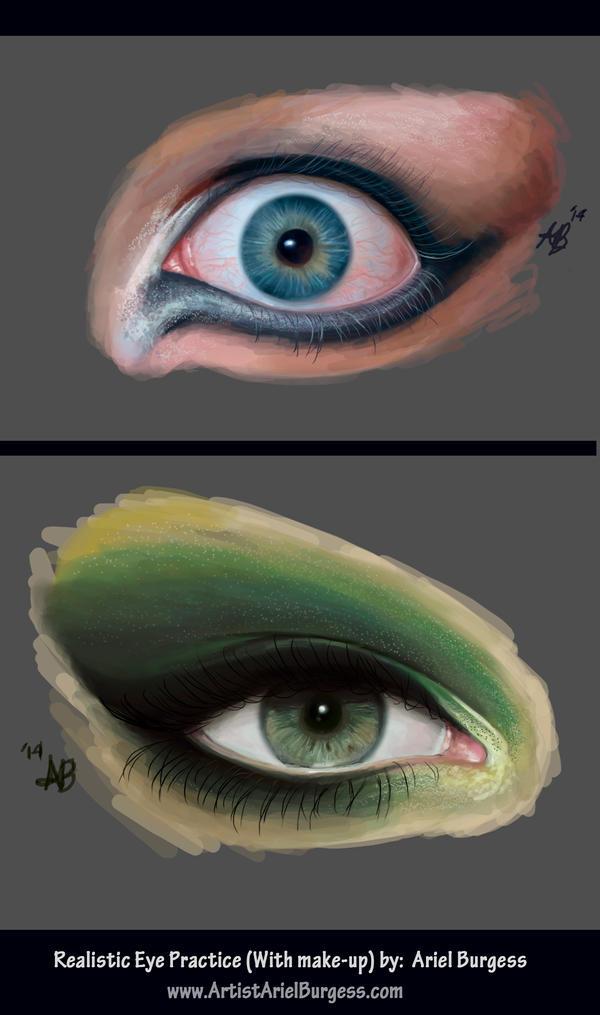 Women Eyes Practice by ReddEra