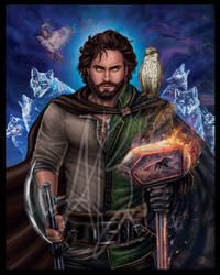 Perrin Aybara, Wolf King by ReddEra