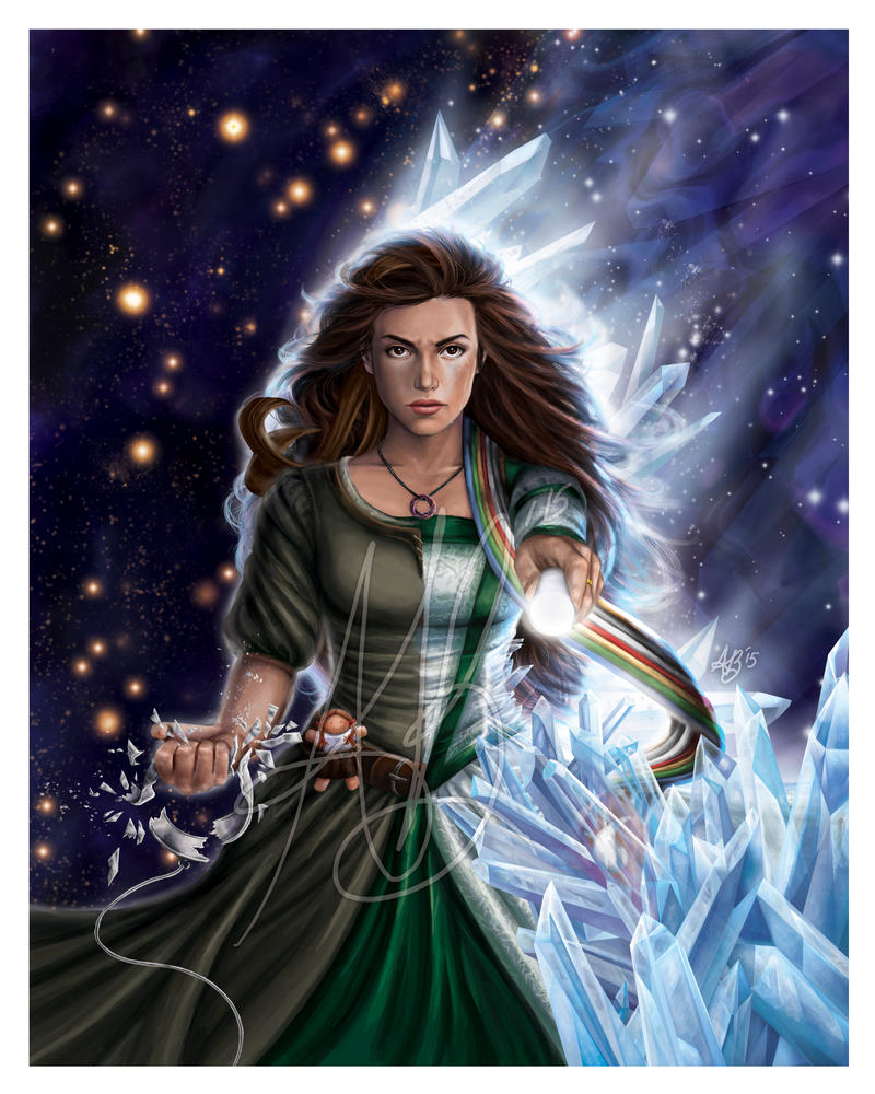 Egwene al'Vere, The Flame of Tar Valon by ReddEra