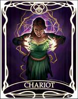 Tarot card Chariot: Nynaeve