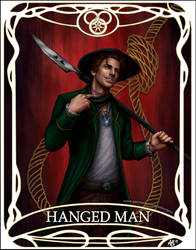 Tarot card Hanged Man: Mat