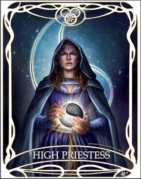 Tarot card High Priestess: Moiraine