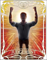 Tarot card Judgement: Rand