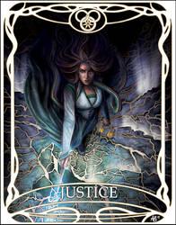 Tarot card Justice: Egwene