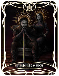 Tarot card The Lovers: Perrin and Faile