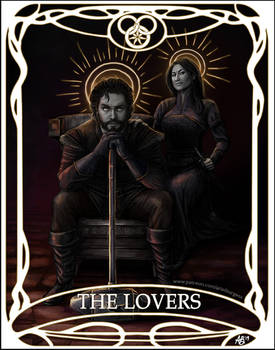 Tarot card The Lovers: Perrin and Faile