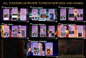 My Patreon Rewards