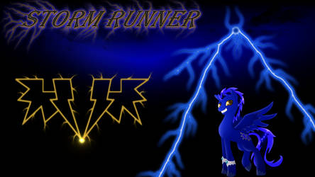 Storm Runner Wallpaper