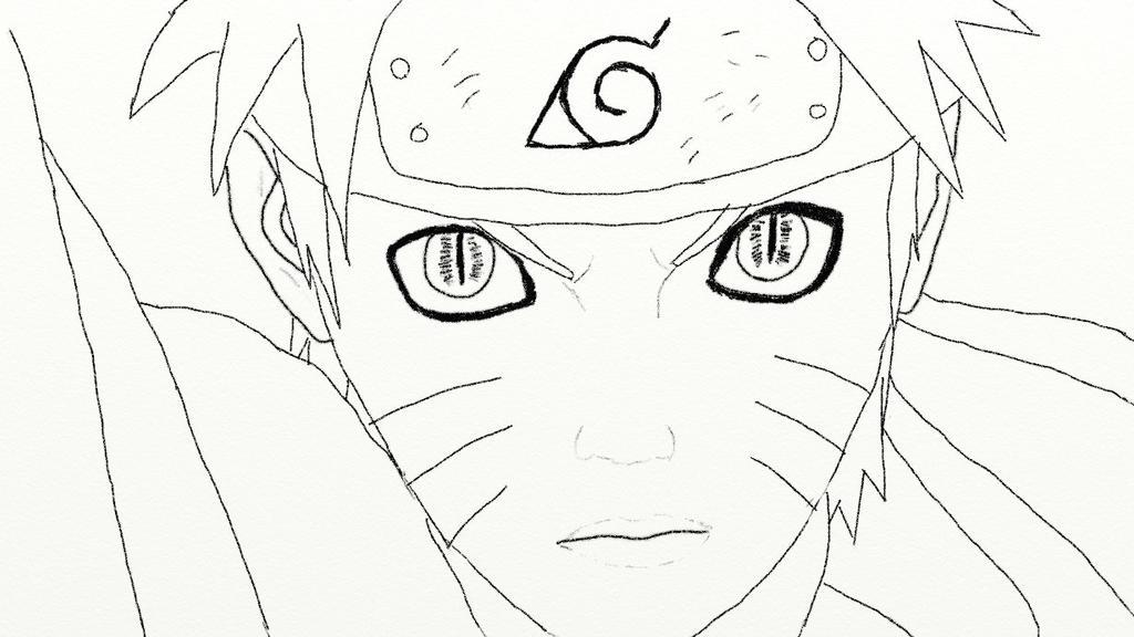 Line Art Practice : Line art practice naruto by izzy on deviantart