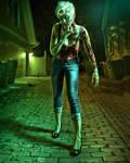 The Zombie Walk by Moyimu