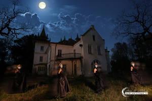 Halloween Ghosts by Vizfx