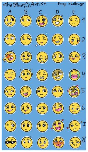 Oc Emoji Challenge by JessTheFNaFfan