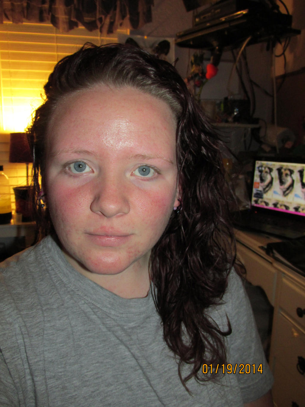Just Got Out Of the Shower(: by PunkyDoodle96