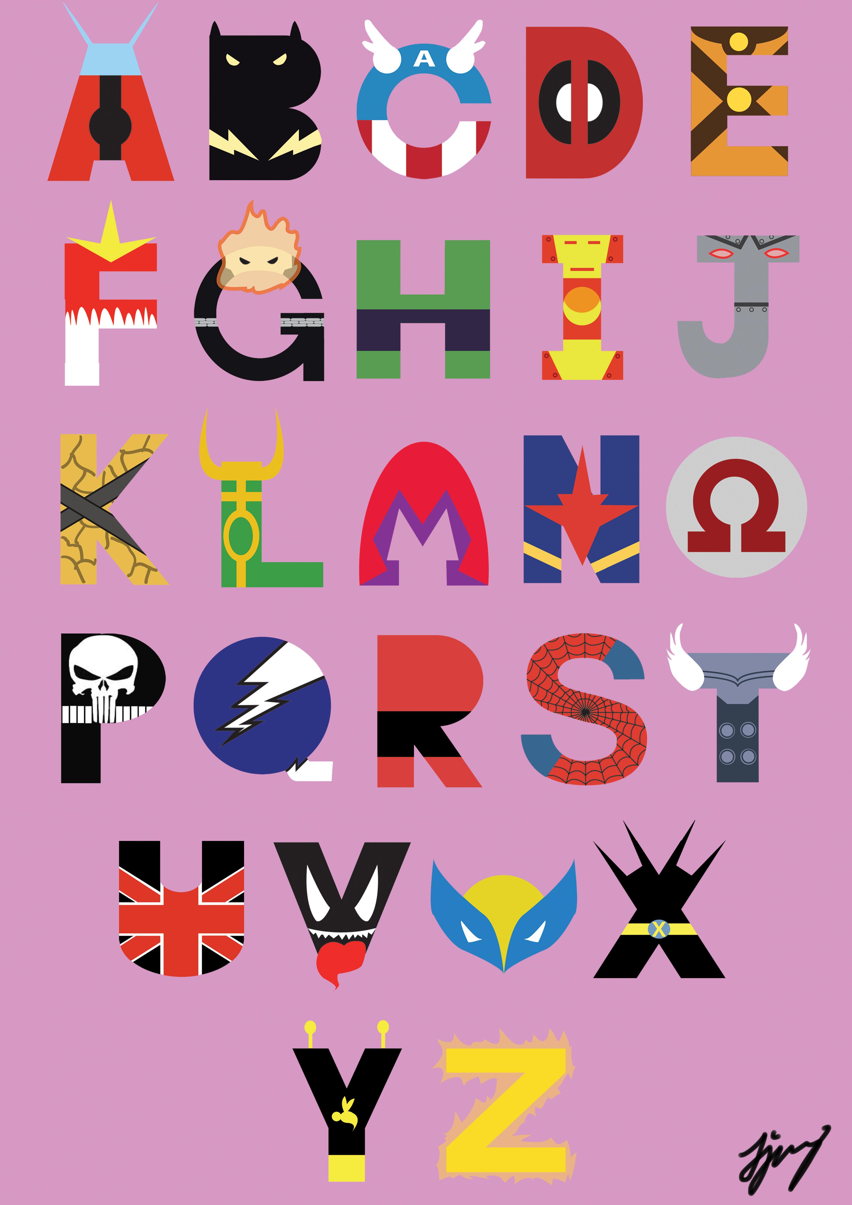 Marvel Superheroes Font By Waynetan93 On Deviantart
