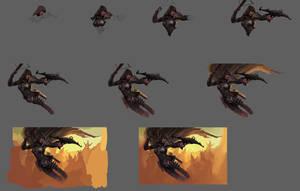 Workflow: Demon Hunter by EmreCinardan