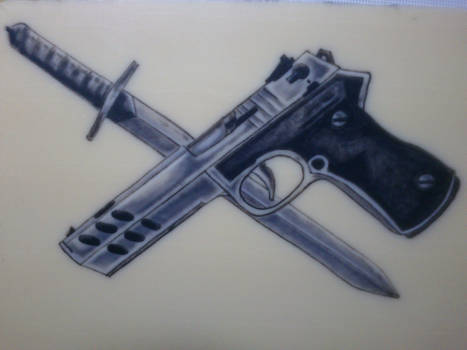 Gun and Knife : 10