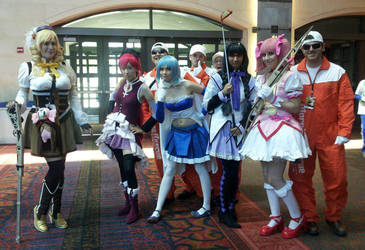 Madoka Magika feat. the Morning Rescue crew by Psycorax