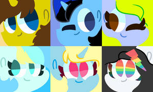  Misc Lineless Icons Batch 4 by GalaxyPixies45