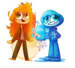 |FA/GIFT| Fire and Water