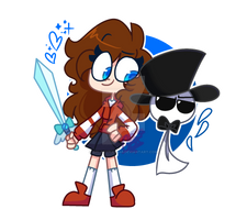 |OC| The gal and the grump