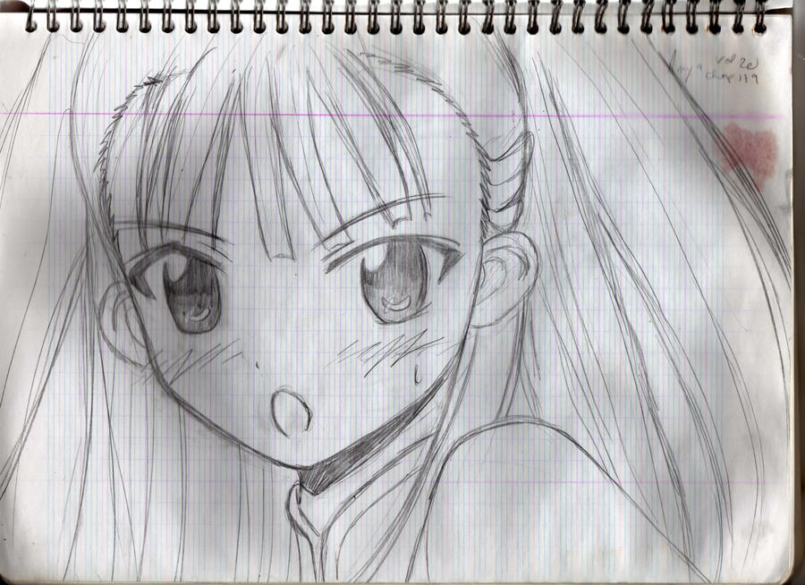 Mahou Sensei Negima - Anya by kumiko-marmotte