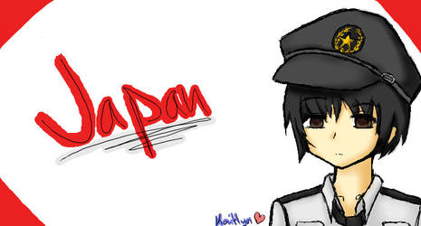 Iscribble: Japan by KuroKonekoChan