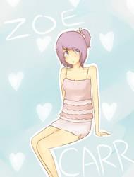 Zoe Carr -OC- by KuroKonekoChan