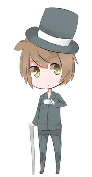 Chibi Alec by KuroKonekoChan