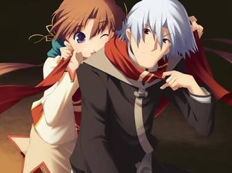 Riannon and Arawn by lyayunna