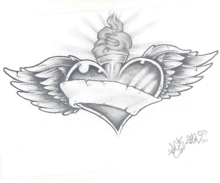 sacred heart tattoo by despisedicon2288 on deviantart. Black Bedroom Furniture Sets. Home Design Ideas